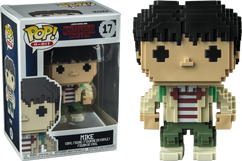 Stranger Things - Mike 8-Bit US Exclusive Pop! Vinyl Figure