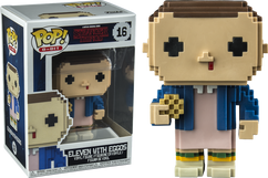 Stranger Things - Eleven 8-Bit US Exclusive Pop! Vinyl Figure