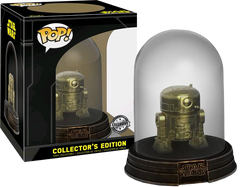 Star Wars - R2-D2 Gold Chrome Collector's Edition Dome US Exclusive Pop! Vinyl Figure