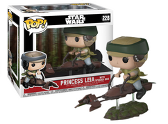 Star Wars - Princess Leia on Speeder Bike Deluxe Pop! Vinyl Figure