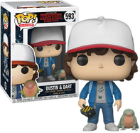 Stranger Things - Dustin with Dart US Exclusive Pop! Vinyl Figure