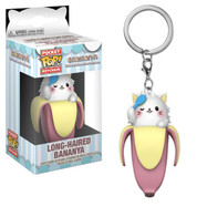 Bananya - Long-Haired Bananya Pop! Vinyl Keychain