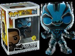 Black Panther - Blue Black Panther Glow US Exclusive Pop! Vinyl Figure