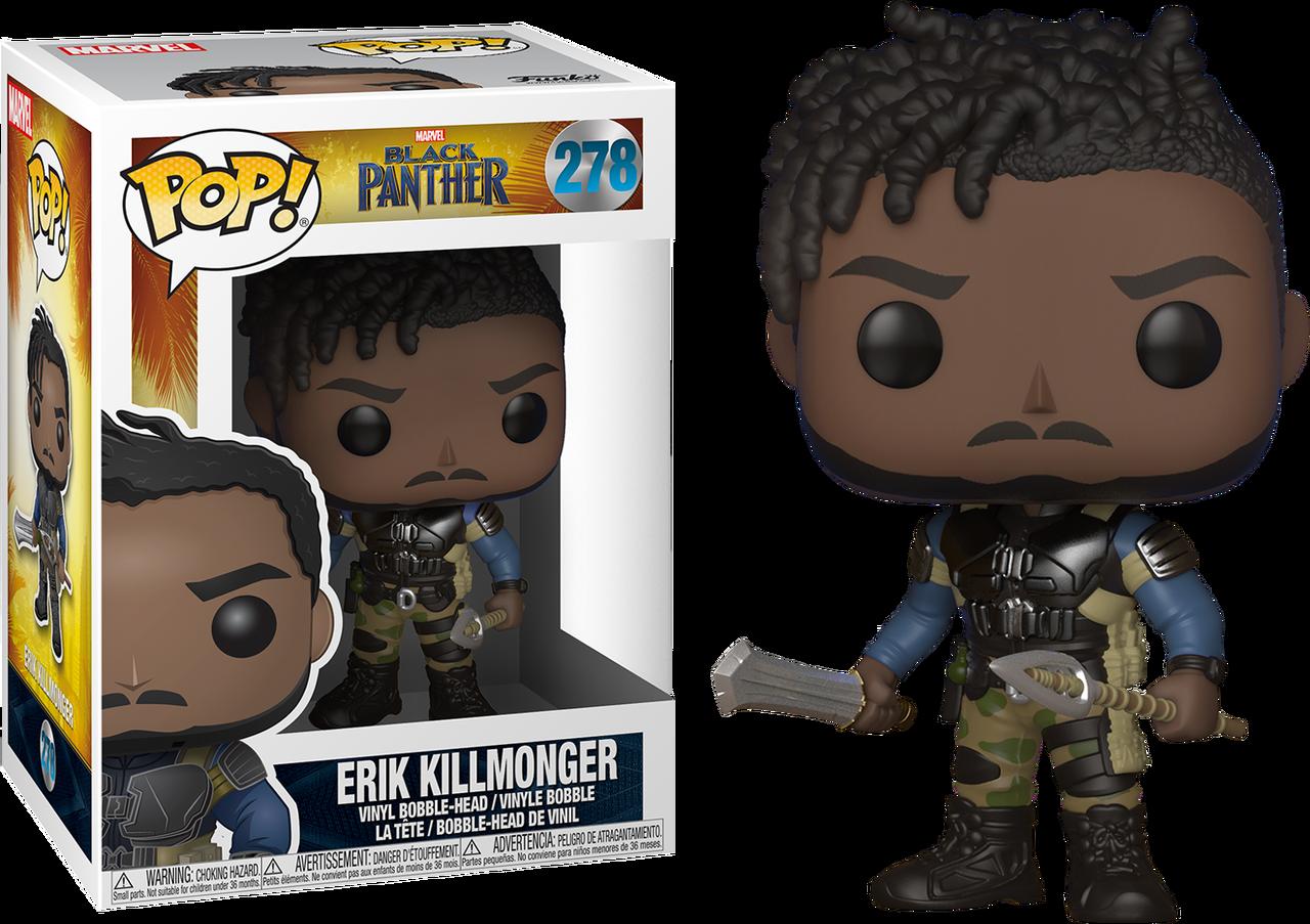 573c377f151 ... Black Panther - Erik Killmonger Pop! Vinyl Figure. Image 1