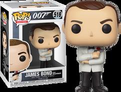 James Bond - James Bond in White Tux (Goldfinger) Pop! Vinyl Figure