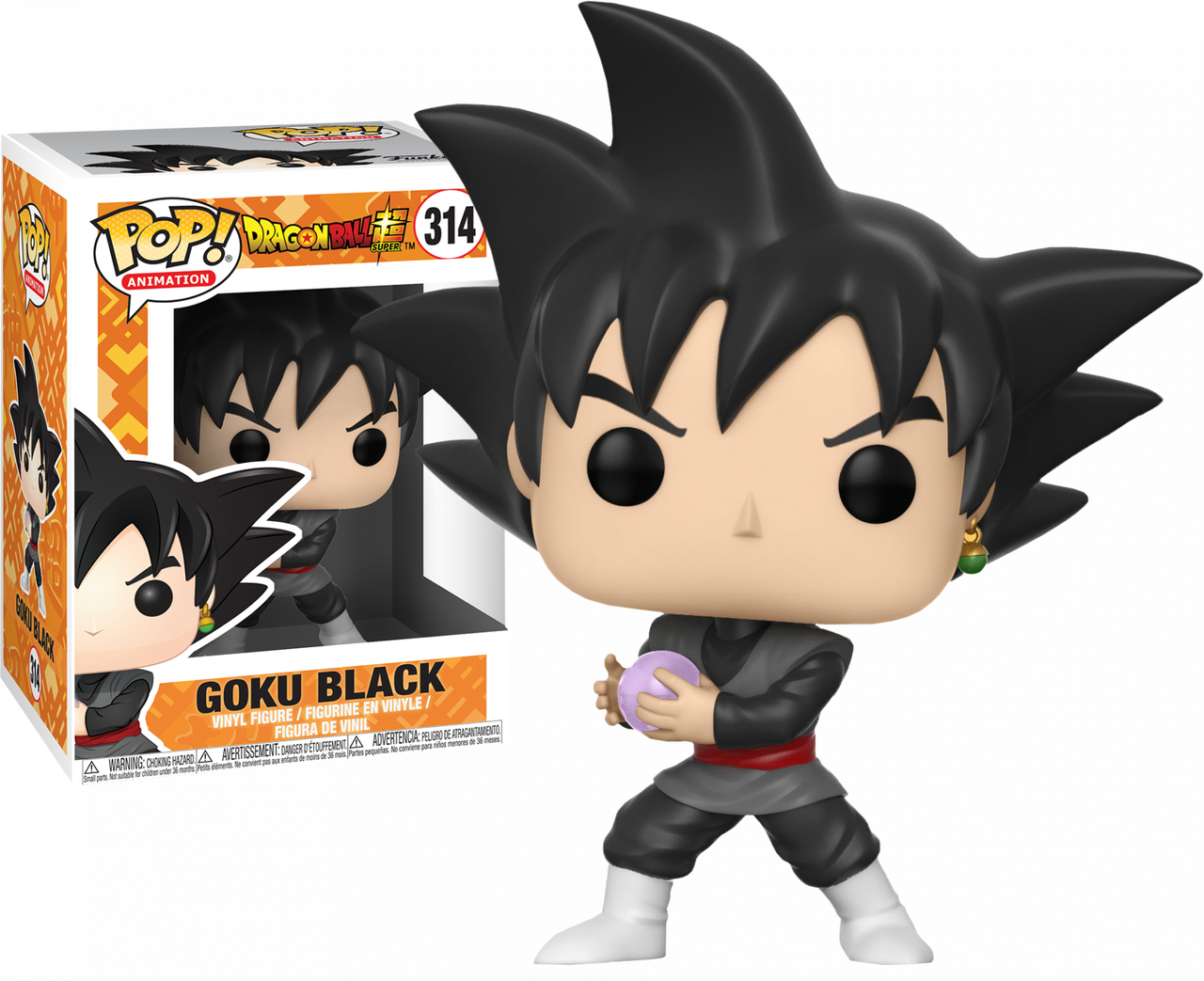 Pop Vinyl--Dragon Ball Super Super Saiyan Rose Goku Black US Exclusive Pop...