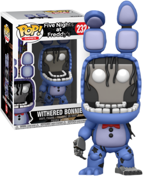 Five Nights At Freddy S Withered Bonnie Us Exclusive Pop