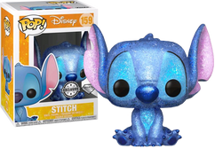 Lilo and Stitch - Stitch Seated Diamond Glitter US Exclusive Pop! Vinyl Figure