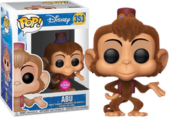 Aladdin - Abu Flocked US Exclusive Pop! Vinyl Figure