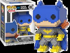 Batman - Classic Batgirl (Blue) 8-Bit Pop! Vinyl Figure
