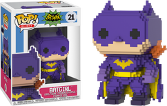 Batman - 1966 Batgirl 8-Bit Purple US Exclusive Pop! Vinyl Figure