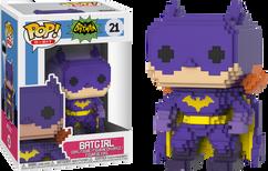 Batman - 1966 Batgirl 8-Bit Purple US Exclusive Pop! Vinyl Figure