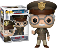 Stan Lee - Captain America: The First Avenger Cameo US Exclusive Pop! Vinyl Figure