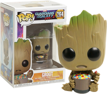 Guardians of the Galaxy Vol. 2 - Groot with Candy Bowl US Exclusive Pop! Vinyl Figure