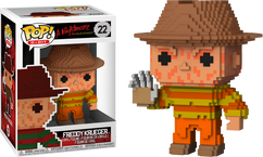 A Nightmare on Elm Street - Freddy Krueger NES 8-Bit US Exclusive Pop! Vinyl Figure
