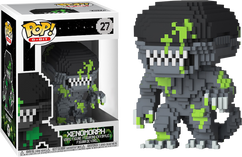 Alien - Xenomorph Blood Splatter 8-Bit US Exclusive Pop! Vinyl Figure