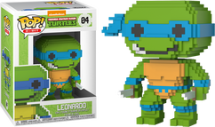 Teenage Mutant Ninja Turtles - Leonardo 8-Bit Pop! Vinyl Figure