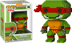 Teenage Mutant Ninja Turtles - Raphael 8-Bit Pop! Vinyl Figure