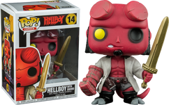 Hellboy - Hellboy with Sword Pop! Vinyl Figure