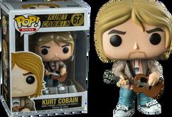 Nirvana - Kurt Cobain (MTV Unplugged) Pop! Vinyl Figure