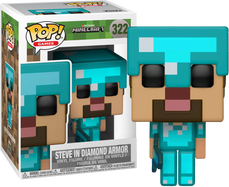 Minecraft - Steve with Diamond Armor US Exclusive Pop! Vinyl Figure