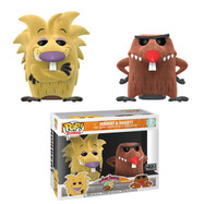 Angry Beavers - Norbert and Daggett Flocked Pop! Vinyl Figure 2-Pack