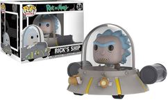 Rick and Morty - Rick with Spaceship Pop! Ride Vinyl Figure