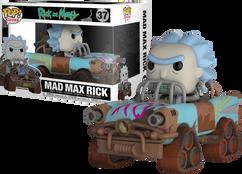 Rick and Morty - Mad Max Rick  Pop! Ride Vinyl Figure