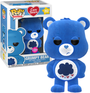 Care Bears - Grumpy Bear Flocked US Exclusive Pop! Vinyl Figure