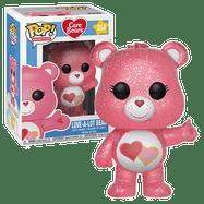Care Bears - Love-A-Lot Bear Glitter US Exclusive Pop! Vinyl Figure