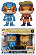 DC Comics - Blue Beetle & Booster Gold US Exclusive Pop! Vinyl 2-Pack