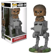Star Wars - Chewbacca with AT-ST Deluxe Pop! Vinyl Figure