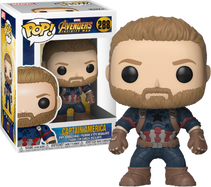Avengers 3: Infinity War - Captain America Pop! Vinyl Figure