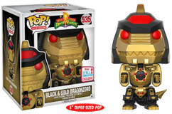 "Mighty Morphin' Power Rangers - Dragonzord Black & Gold 6"" NYCC17 Pop! Vinyl Figure"