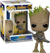 Avengers 3: Infinity War - Groot with Gun Pop! Vinyl Figure