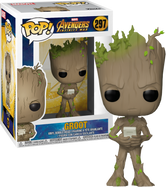 Avengers 3: Infinity War - Groot With Video Game US Exclusive Pop! Vinyl Figure