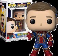 Avengers 3: Infinity War - Iron Spider Unmasked US Exclusive Pop! Vinyl Figure