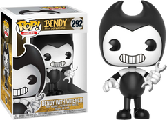 Bendy and the Ink Machine - Bendy with Wrench US Exclusive Pop! Vinyl Figure