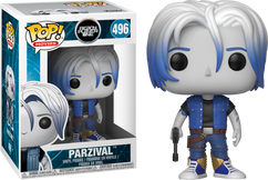 EXCLUSIVE FUNKO POP PARZIVAL ANTIQUE VINYL FIGURE #496 READY PLAYER ONE