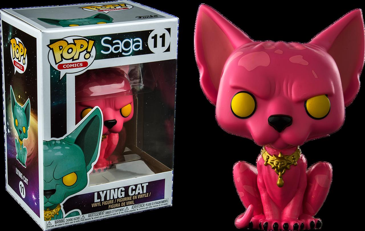 Saga Funko POP Lying Cat Vinyl