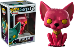 Saga - Lying Cat Pink US Exclusive Pop! Vinyl Figure