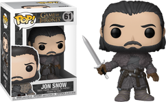 Game of Thrones - Jon Snow Beyond The Wall Pop! Vinyl Figure