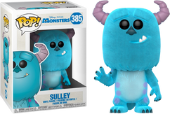Monsters Inc - Sulley Flocked US Exclusive Pop! Vinyl Figure