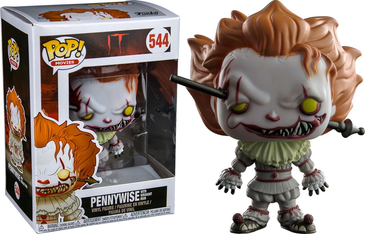 It 2017 Pennywise With Wrought Iron Us Exclusive Pop