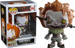 It (2017) - Pennywise with Wrought Iron US Exclusive Pop! Vinyl Figure