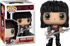 Motley Crue - Nikki Sixx Pop! Vinyl Figure