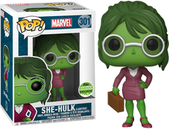 Marvel - Lawyer She Hulk ECCC 2018 US Exclusive Pop! Vinyl Figure