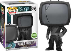 Saga - Prince Robot IV Mourning ECCC 2018 US Exclusive Pop! Vinyl Figure