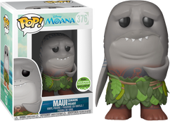 Moana - Maui with Shark Head ECCC 2018 US Exclusive Pop! Vinyl Figure