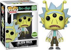 Rick and Morty - Alien Rick ECCC 2018 US Exclusive Pop! Vinyl Figure